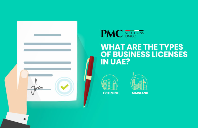 What are the Types of Business Licenses in UAE?