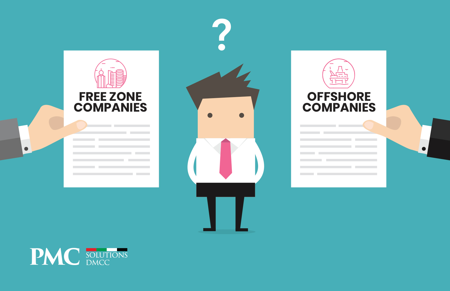 What is the Difference Between Free zone & Offshore Companies in Dubai?