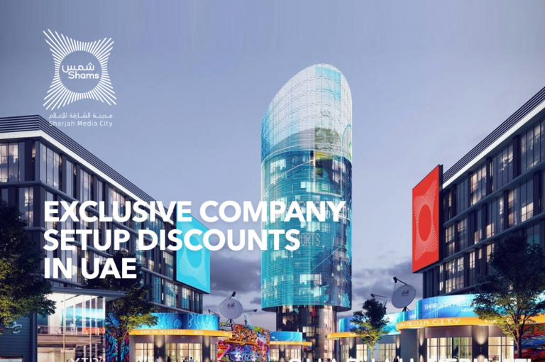 Sharjah Media City Free zone Business Setup Discount Offer